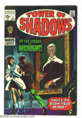 Silver Age (1956-1969):Horror, Tower of Shadows #1 and 2 Group (Marvel, 1969) Condition: AverageVF. Art by Jim Steranko, Johnny Craig, and Neal Adams. Ove...(Total: 2 Comic Books Item)