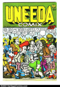 Uneeda Comix #1 - First printing (Print Mint, 1971) Condition: VF/NM. All Robert Crumb art. Overstreet does not yet list...