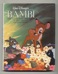 Walt Disney's Bambi #nn (Steward, Tabori & Chang, 1990). Beautifully illustrated book about the movie done by th...