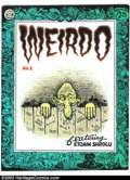 Modern Age (1980-Present):Alternative/Underground, Weirdo #1 - First printing (Last Gasp, 1981) Condition: NM-. RobertCrumb cover and art. Overstreet does not yet list values...