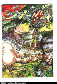 Zap Comix #13 and 14 Group (Apex Novelties, 1973) Condition: Average NM. This lot consists of issues #13 and 14. Art by...
