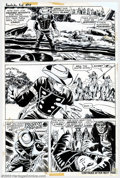 """Original Comic Art:Panel Pages, Larry Lieber and George Roussos - Original Art for The Rawhide Kid #98, Group of 9 pages (Marvel, 1972). """"The Gun and the Ar..."""