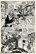 Original Comic Art:Panel Pages, Bill Molno (attributed) - Original Art Panel Pages for Scary Tales (Charlton, 1975). Two nicely illustrated pages from an un... (Total: 2 Original Art Item)