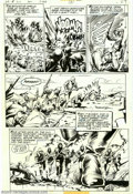 Original Comic Art:Panel Pages, Bob Smith - Original Art for Unknown Soldier #210, Story page 2(DC, 1977). It's the British vs. the Germans in this war-tor...