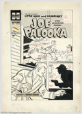 Original Comic Art:Covers, Al Avison - Original Cover Art for Joe Palooka #110 (Harvey, 1960).Joe's porcine pal, Humphrey Pennyworth, makes a stunning...