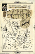 Original Comic Art:Covers, Ray Dirgo - Original Cover Art for Yogi Bear #7 (Charlton, 1971).Nice cover for the most desirable issue of the Charlton ru...