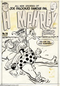 Original Comic Art:Covers, Ham Fisher (attributed) - Original Art Cover for Humphrey #18(Harvey, 1951). Joe Palooka's rotund pal stars in his own comi...