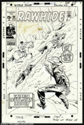 Original Comic Art:Covers, Larry Lieber - Original Cover Art for The Rawhide Kid #89 (Marvel,1971). The Rawhide Kid is poised for action by artist Lar...