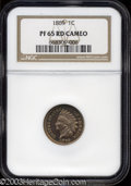 Proof Indian Cents: , 1869 PR 65 Cameo NGC. ...
