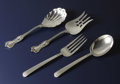 Silver Flatware, American:Reed & Barton, Two Sets of American Silver Serving Pieces. Various makers,American. Twentieth century. Silver. Various marks. 9.13 inche...(Total: 4 Item)