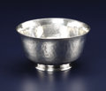 Silver Holloware, British:Holloware, A George V Silver Bowl. Unidentified maker, London, England. Circa1919-1920. Silver. Marks: (lion passant), (leopard's h... (Total: 1Item)