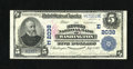National Bank Notes:District of Columbia, Washington, DC - $5 1902 Plain Back Fr. 602 The Second NB Ch. # (E)2038. ...