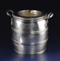 Silver Holloware, British:Holloware, A George III Silver Wine Cooler . Robert and Thomas Makepeace,London, England. Circa 1794-1795. Silver. Marks: (lion pas...