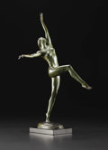 Sculpture, Desha. Harriet Whitney Frishmuth (1880-1980), American. Modeled 1927; Edition of 99 or 100.. Bronze with green patina...