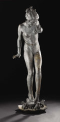 Bronze:American, Playdays. Harriet Whitney Frishmuth (1880-1980), American.Modeled 1924; Edition of 32.. Bronze with weathered green p...