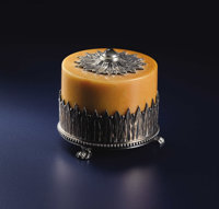 A Russian Hardstone and Silver Bell Push  Carl Peter Fabergé, St. Petersburg, Russia Mikhail Evlamplevich Perkin...