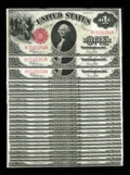 Large Size:Legal Tender Notes, Fr. 39 $1 1917 Legal Tender Consecutive Run of Twenty-Five ChoiceNew. The first and last notes from this run have a few min...(Total: 25 notes)