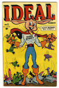 Golden Age (1938-1955):Funny Animal, Ideal Comics #1 (Timely, 1944) Condition: VG+....