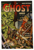 Golden Age (1938-1955):Horror, Ghost #9 (Fiction House, 1953) Condition: Apparent FN+....