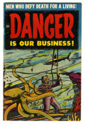 Golden Age (1938-1955):Science Fiction, Danger Is Our Business! #1 (Toby Publishing, 1953) Condition:Apparent VG/FN....