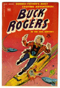Golden Age (1938-1955):Science Fiction, Buck Rogers 101 (#8) (Toby Publishing, 1951) Condition: VG+....