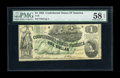 Confederate Notes:1862 Issues, T45 $1 1862. This is a type that is seldom seen in high grade, yetthis example has survived nearly fully new with only edge...