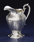 Silver Holloware, American:Pitchers, An American Silver Water Pitcher. Gorham Manufacturing Co.,Providence, Rhode Island. 1917. Silver. Marks: (lion-anchor-G)...
