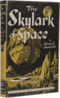 Books:Fiction, Edward E. Smith (in collaboration with Mrs. Lee Hawkins Garby):The Skylark of Space. (Brooklyn, NY: F.F.F. Publish...