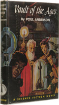 Books:Signed Editions, Poul Anderson Signed: Vault of the Ages. (Philadelphia: The John C. Winston Company, 1952), first edition, 210 page...
