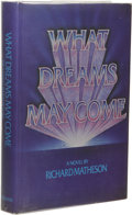 Books:First Editions, Richard Matheson: What Dreams May Come. (New York: G. P.Putnam's Sons, 1978), first edition, 304 pages, typographics il...