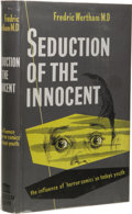 Books:First Editions, Fredric Wertham: Seduction of the Innocent. (London: MuseumPress Limited, 1955), first edition, 397 pages, illustrated,...