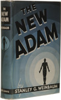 Books:First Editions, Stanley G. Weinbaum: The New Adam. (Chicago: Ziff-Davis,1939), first edition, 262 pages, bound in light blue cloth with...