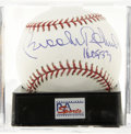 "Autographs:Baseballs, Brooks Robinson ""HOF 83"" Single Signed Baseball, PSA Mint+ 9.5. Third baseman extraordinaire Brooks Robinson here makes ment..."