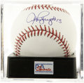 "Autographs:Baseballs, Alex Rodriguez ""#13"" Single Signed Baseball, PSA Gem Mint 10. GemMint single from the man who many consider the most talent..."