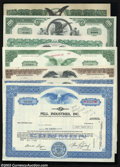 Stocks and Bonds:General Stocks & Bonds, A Gathering of Eagles, Seven Stock Certificates or Bonds ... (7items)