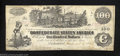 Confederate Notes:1862 Issues, 1862 $100 Railway train; Straight Steam from Locomotive; ...
