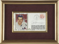 Autographs:Others, Joe DiMaggio Signed First Day Cover. Considered by many to be the baseball feat that is least likely to be eclipsed, Joe Di...