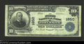 National Bank Notes:Arkansas, Fort Smith, AR - $10 1902 Plain Back Fr. 628 First ...