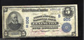 National Bank Notes:Kentucky, Lexington, KY - $5 1902 Date Back Fr. 596 The First & ...
