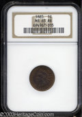 1885 1C MS65 Red and Brown NGC. ...(PCGS# 2152)