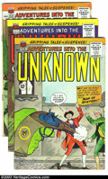 Golden Age (1938-1955):Science Fiction, Adventures Into the Unknown Group (ACG, 1961) Condition: AverageFN. Big group of eight issues -- #131, 132, 134-139. Overst...(Total: 8 Comic Books Item)