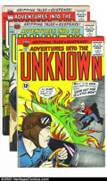 Golden Age (1938-1955):Science Fiction, Adventures Into the Unknown Group (ACG, 1963) Condition: AverageFN. Five issues -- #140-144, plus an extra copy of #144. Ov...(Total: 6 Comic Books Item)