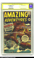 Silver Age (1956-1969):Horror, Amazing Adventures #6 Stan Lee Signature Series (Marvel, 1961) CGCFR/GD 1.5 Cream to off-white pages. Signed by Stan Lee on...