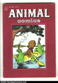 Golden Age (1938-1955):Funny Animal, Animal Comics #17 (Dell, 1945) Condition: VG+. Pogo by Walt Kellycover/story. Overstreet 2003 VG 4.0 value = $20....
