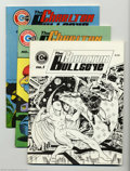 Bronze Age (1970-1979):Miscellaneous, Charlton Bullseye Issues #1-5 Group (Charlton, 1975-76) Condition:Average VF/NM. All five issues of the original magazine, ...(Total: 5 Comic Books Item)