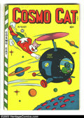 Golden Age (1938-1955):Funny Animal, Cosmo Cat #8 (Fox, 1947) Condition: VG+. Overstreet 2003 VG 4.0value = $20....