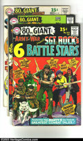 Bronze Age (1970-1979):Miscellaneous, DC 80 Page Giant Comics Group (DC, 1966-68) Condition: Average VG.This lot consists of 80 Page Giant issues #G-18, G-19, G-...(Total: 7 Comic Books Item)