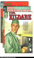 Silver Age (1956-1969):Miscellaneous, Dr. Kildare #6-8 Group (Dell, 1963) Condition: Average VG+. Thislot consists of issues #6, 7, and 8. Overstreet 2003 value ...(Total: 3 Comic Books Item)