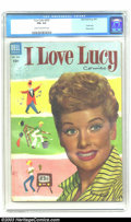 Golden Age (1938-1955):Miscellaneous, Four Color #535 I Love Lucy (Dell, 1954) CGC FN+ 6.5 Cream to off-white pages. Photo cover. This is the first I Love Lucy...
