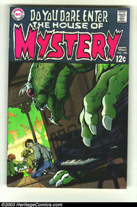 House of Mystery #180 (DC, 1969) Condition: NM-. Neal Adams cover art. Gil Kane interior art. Overstreet 2003 NM 9.4 val...